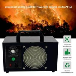 10000mg/h Car Room Air Purifier Ozone Generator Odor Remove