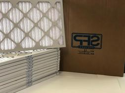 16x25x1 Merv 8 Pleated AC Furnace Filters. Case of 12 Made i