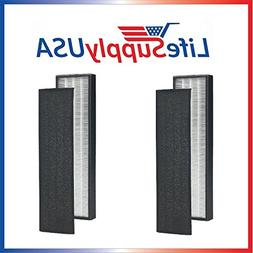 2 Pack - True HEPA + Pre Filter Replacement Filter for C FLT
