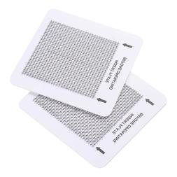 """2 Ceramic Ozone Plates for Popular Home Air Purifiers 4.5"""" A"""