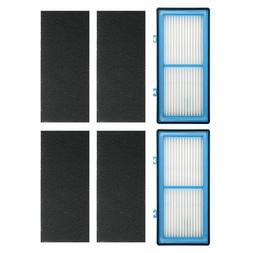 2 PACK Air Purifier Filters for Holmes AER1 2 HEPA and 4 Car