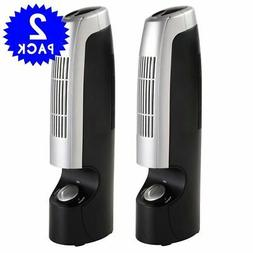2 PCS Mini Ionic Whisper Pro Filter 2 Speed Home Air Purifie