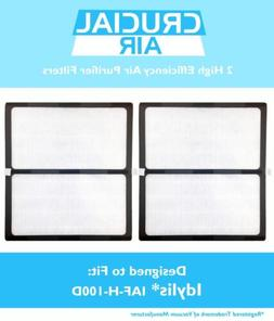 2 Replacements Idylis D IAP-10-280 HEPA Air Purifier Filters