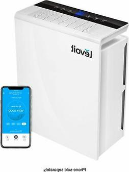 Levoit - 361 Sq. Ft Smart Air Purifier - White