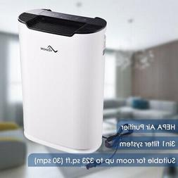 3in1 Home Air Cleaner Purifier HEPA Filter Smoke Eater Indoo