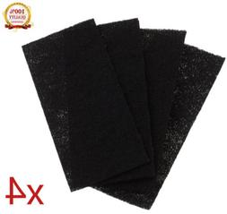 4Pcs Replacement Carbon Booster Filters For Holmes Total Air