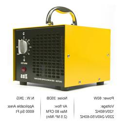 5000mg Ozone Generator Machine Ionizer O3 Air Purifiers for