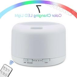 Essential Oil Diffuser Ultrasonic Aromatherapy LED Humidifie