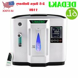 6L Portable O2 Concentrator Machine Use Efficient O-xy Gener