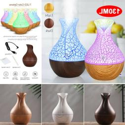 7-Color LED Air Humidifier USB Oil Purifier Aroma Diffuser A