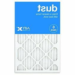 AIRx DUST 16x25x1 MERV 8 Pleated Air Filter - Made in the US