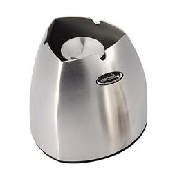 Ashtray, Newness Stainless Steel Tabletop Decoration Unbreak