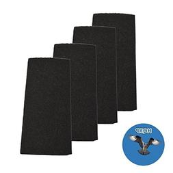 HQRP 4-pack Carbon Filter for Holmes BHOR31-1 AOR31 AOR31-U