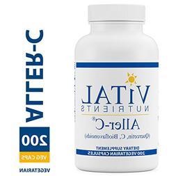 Vital Nutrients - Aller-C  - Respiratory & Sinus Support - G