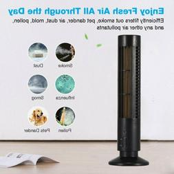air purifier hepa filter uv sanitizer odor