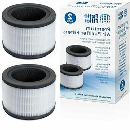 Air Purifier Replacement Filter Compatible with LEVOIT Vista