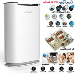4-Stage HEPA Air Purifiers for Home Allergies Pets Hair Smok