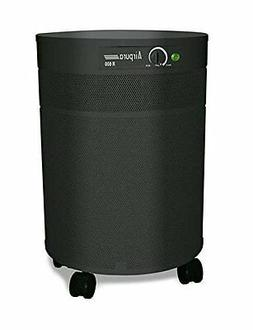 Air Purifier w True HEPA Filter in Black