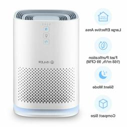 Air Purifier with HEPA Filter Portable Air Cleaner with 3 Sp