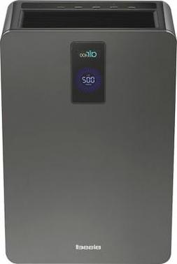 BISSELL - air400 423 Sq. Ft. Air Purifier - Silver/Titanium