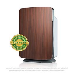 Alen BreatheSmart Customizable Air Purifier with HEPA-Silver