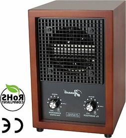 Cherry Wood Ozone Generator 3000mg Home Use Air Purifier Deo