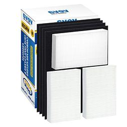 VEVA Premium True HEPA Replacement Filter 3 Pack Including 4