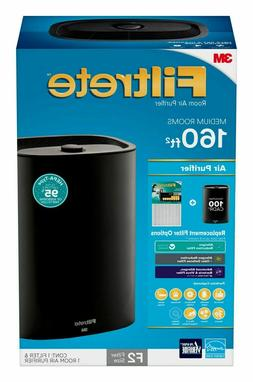Filtrete by 3M Room Air Purifier, Medium Room Console, 160 S
