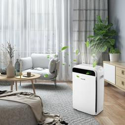 Hepa Filter Air Purifier Large Room Fresh Air Cleaner For Ca