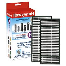 Honeywell True HEPA Replacement Filter H, 2 ea