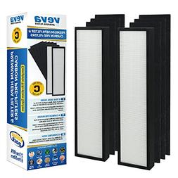 VEVA Premium True HEPA Replacement Filter 2 Pack Including 6
