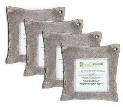 Home Bamboo Charcoal Air Purifier Bags, Silver for Absorb Od