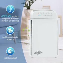 Home Indoor True HEPA Filter Air Purifier Room Office Bedroo