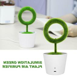 Home Office Desktop Green Plant Air Purifier Humidifiers Pol