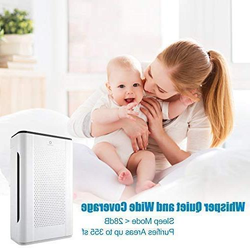 Airthereal Purifier with HEPA Odor for Rooms, and Dust, & ETL Certified,152+ CFM, sf,