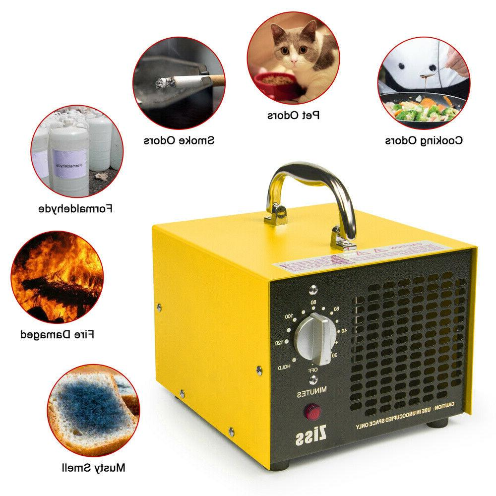 5000mg Generator Ionizer Purifiers for Smoke Remover
