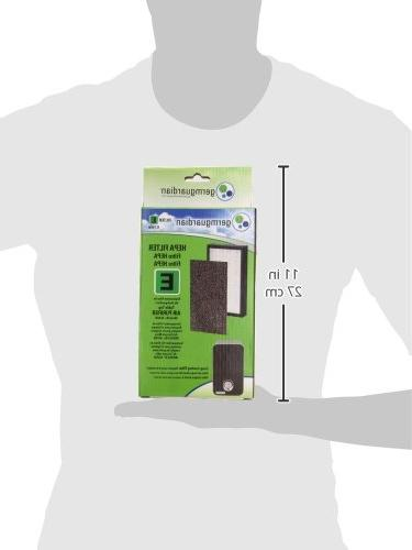 Germguardian Filter For Germguardian 3-in-1 Hepa Filter Air White