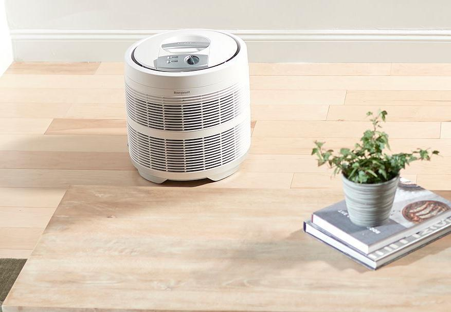 Air Cleaner Space Big White Honeywell HEPA