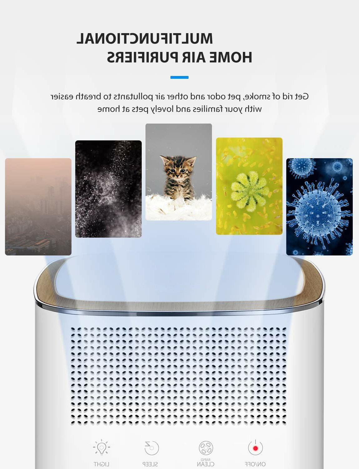 1 Home Air Purifier True Carbon Filters