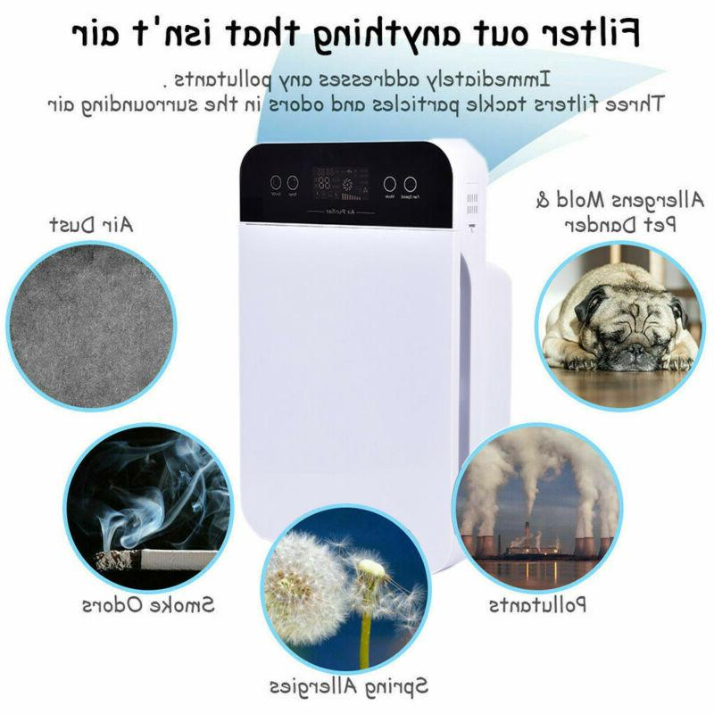 Air Germs for Home Room w/ True HEPA Carbon Cleaner US