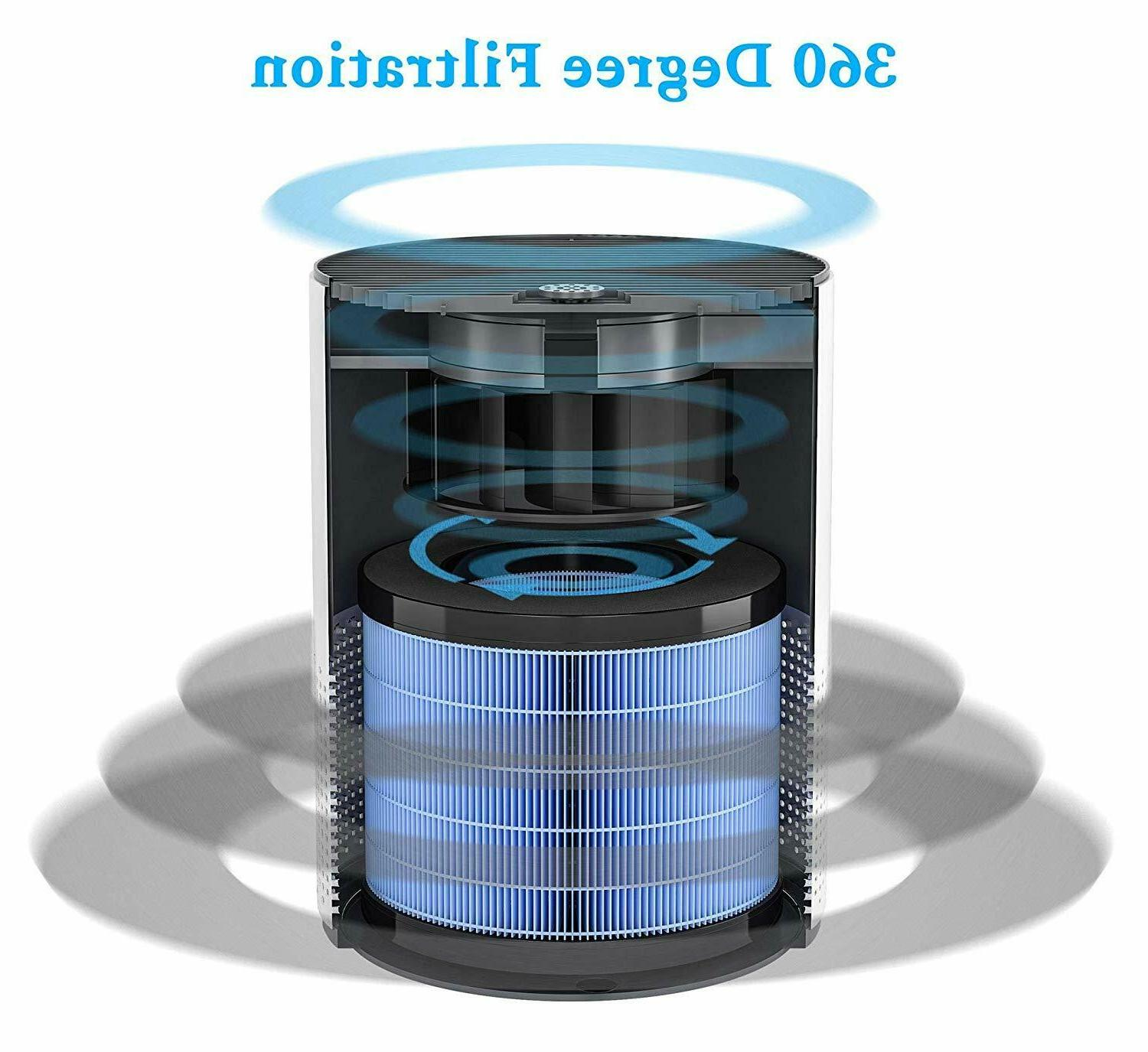 Miko Purifier for Home Aromatherapy, Timer, True HEPA Filter