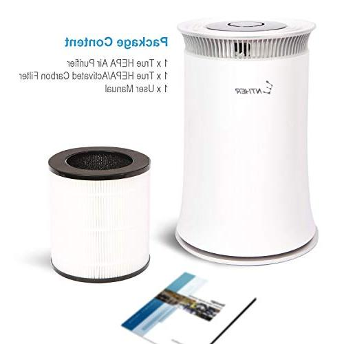 Enther Air Purifier with True Filter Smoke Dust, Air Eliminator for Large