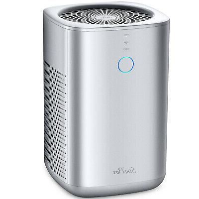 Home Air Purifier for Large Room Allergies Pet, Smoke, Doubl