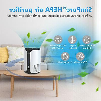 Air Purifier Oil Aromatherapy Hair, Smokers, HEPA
