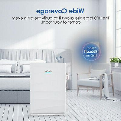 Air Purifiers for Large home Allergies True HEPA filter Air