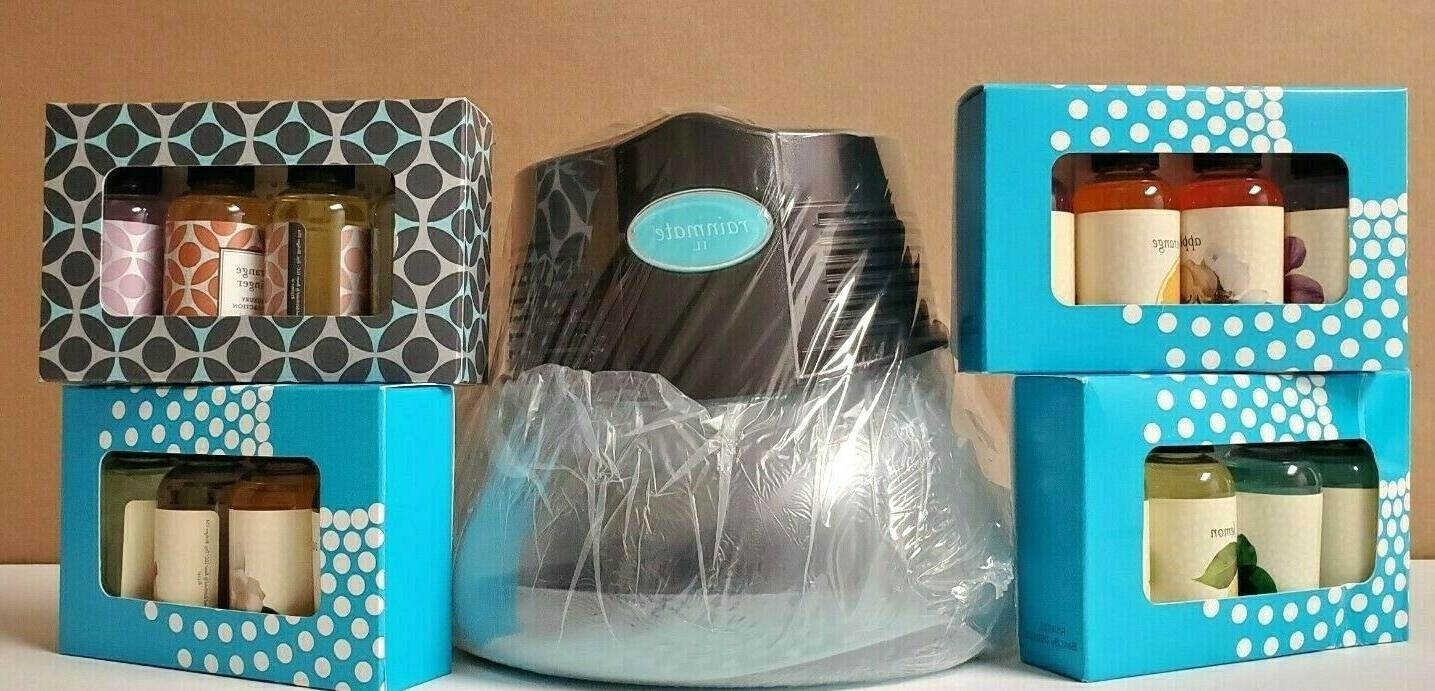 black rainmate il air purifier freshener w