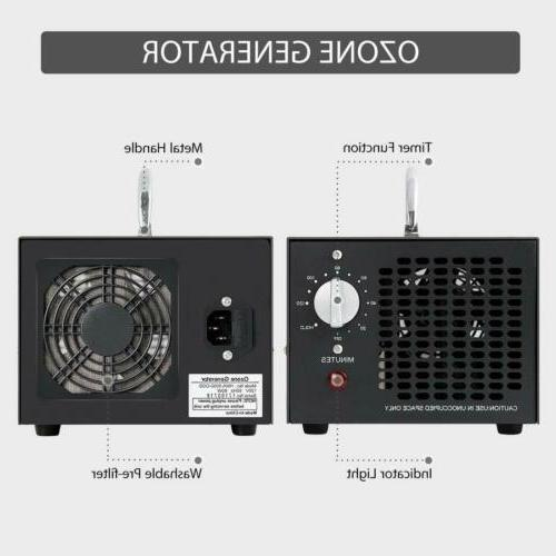 Commercial Industrial Ozone Generator 5000mg/h Pro Mold Mildew
