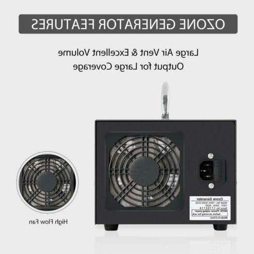 Commercial Industrial Ozone 5000mg/h Air Purifier Mold Mildew