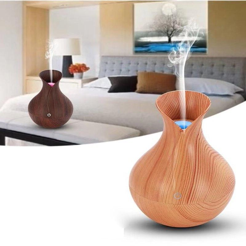 <font><b>Air</b></font> aroma humidifier grain 7 color LED lights for home office hui
