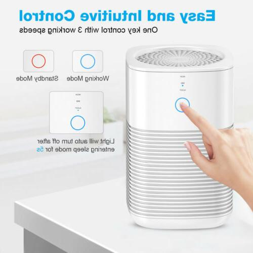 GBlife Powerful Air Purifier Filter Carbon Odor